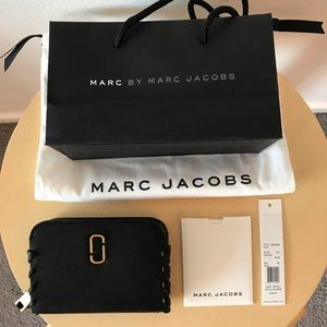 NEW Marc Jacobs Lambskin Leather Cardholder Wallet